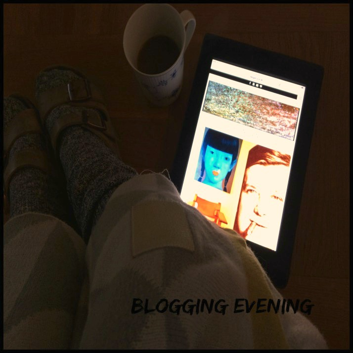 Blogging evening